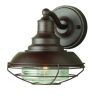 Elstead EUSTON Old Bronze Outdoor Wall Lantern